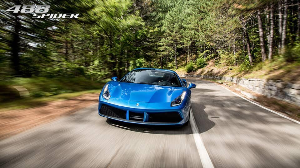 Ferrari 488 Spider on Highway
