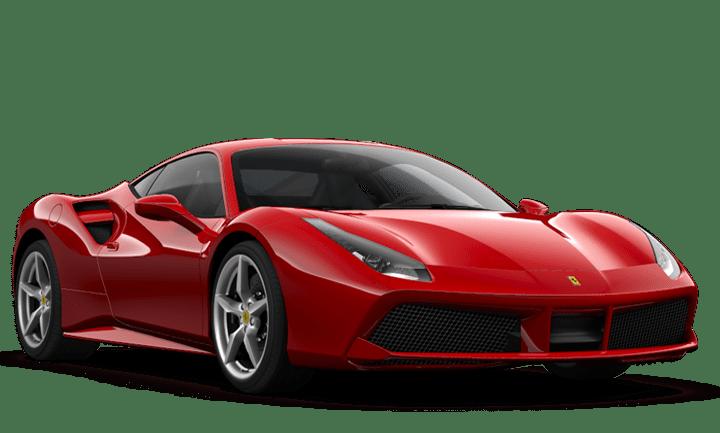 Red Ferrari 488 GTB