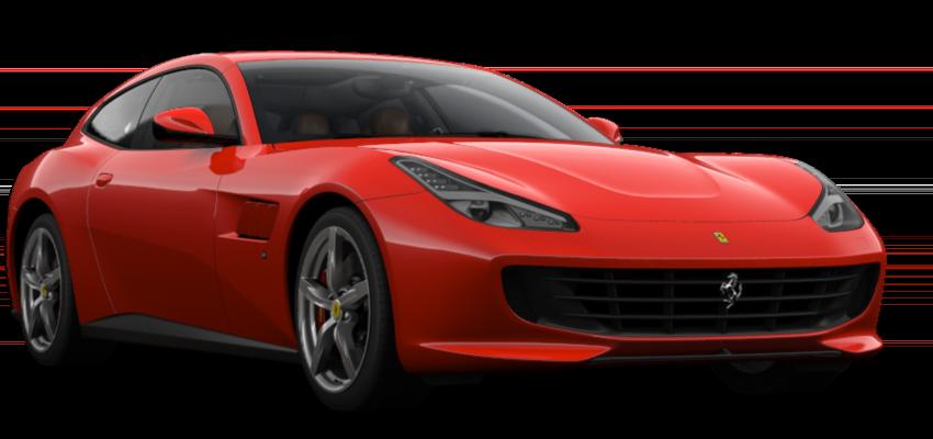 Red Ferrari GTC4Lusso