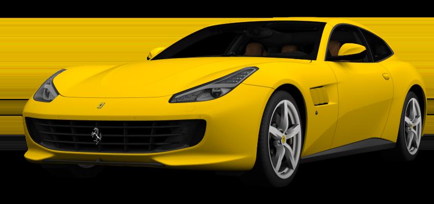 Yellow Ferrari GTC4Lusso T