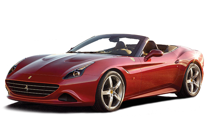 Red Ferrari California T
