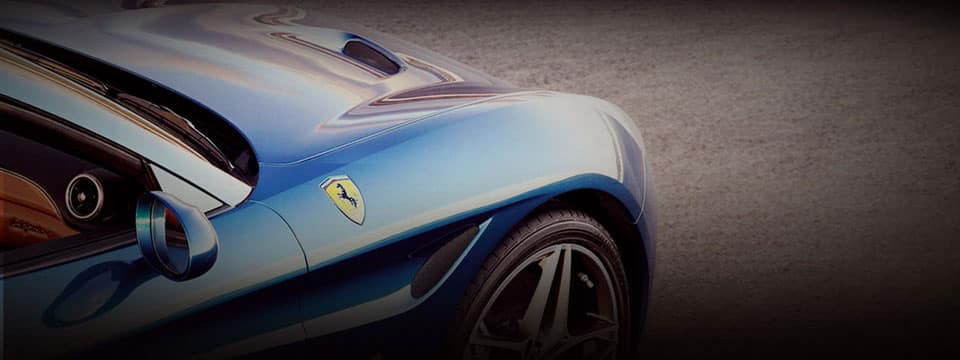 Ferrari California T Badging