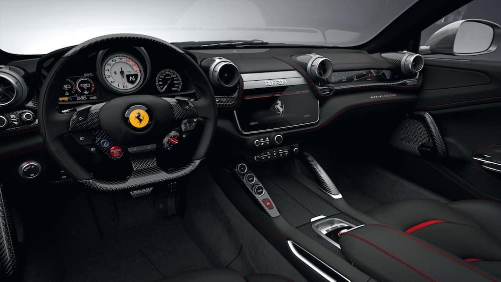 Ferrari GTC4Lusso T Interior Design \u0026 Options