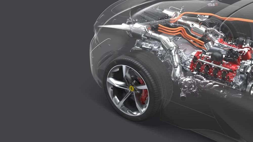 Ferrari SF90 Stradale Powertrain