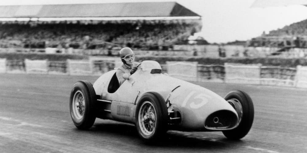 Early Ferrari on a Track