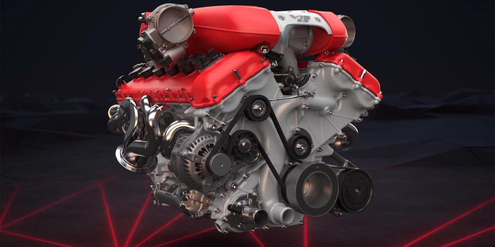 Ferrari 812 Superfast Engine