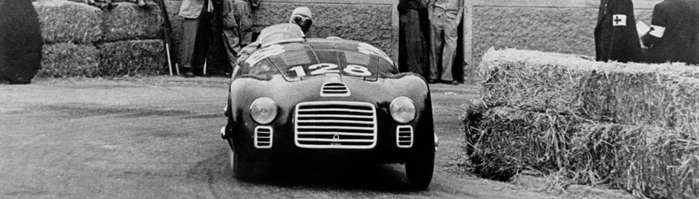 Ferrari History Black and White