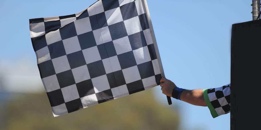 Waving Checkered Flag