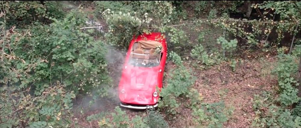 Ferris Bueller Crashed Ferrari