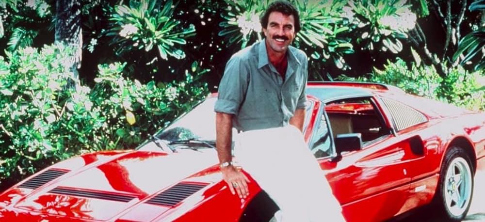 Magnum PI with Ferrari