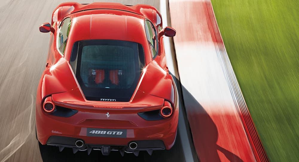 Ferrari 488 GTB on Track