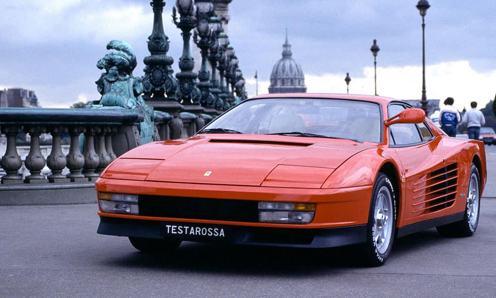 Ferrari Testarossa on Street