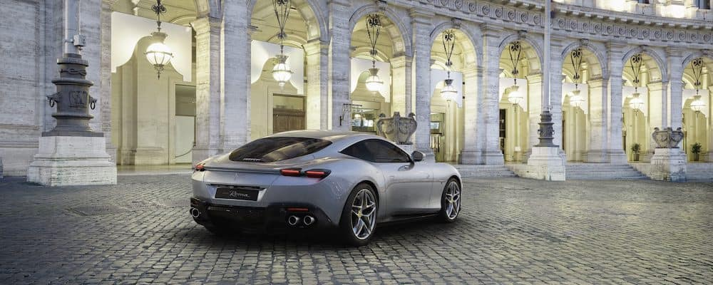 Ferrari Roma Rear