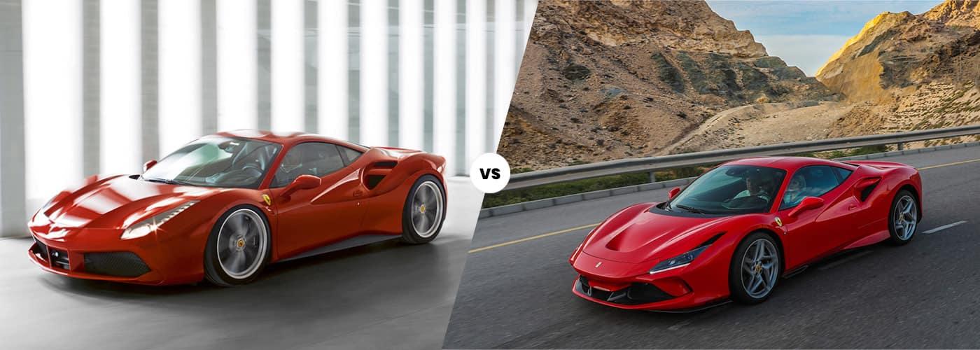 Ferrari 488 vs. Ferrari F8