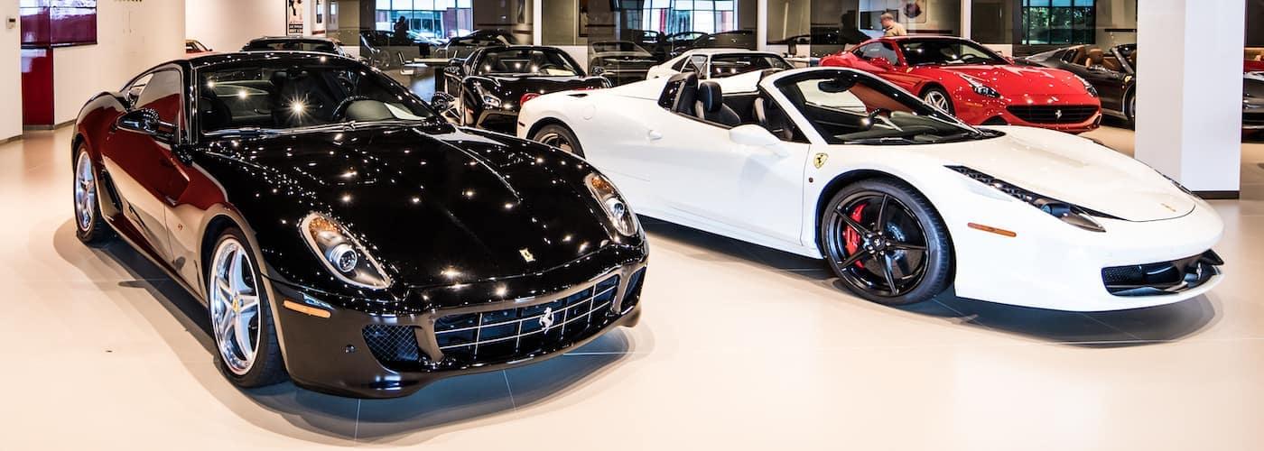 Ferraris Parked