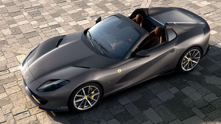 Ferrari 812 GTS Above