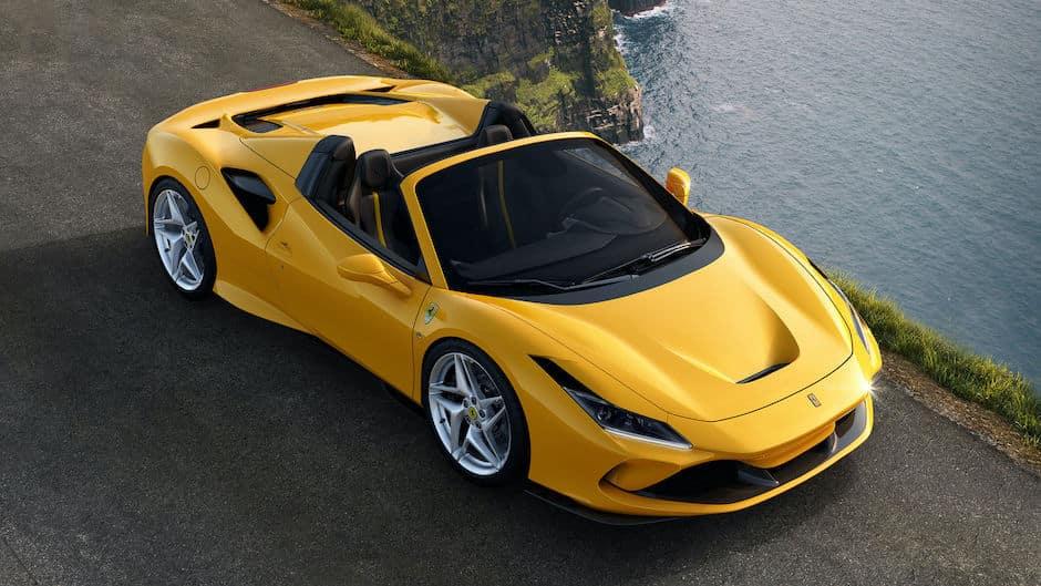 Ferrari F8 Spider Above