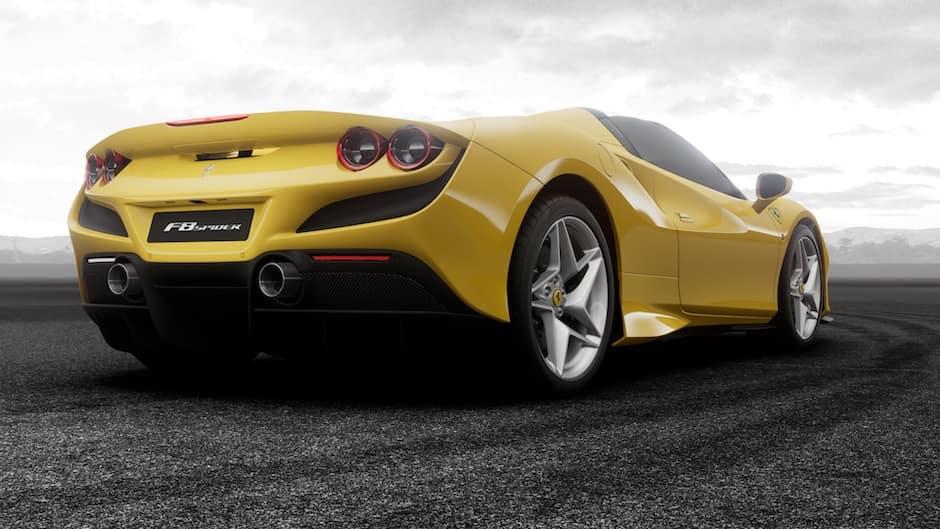Ferrari F8 Spider Rear