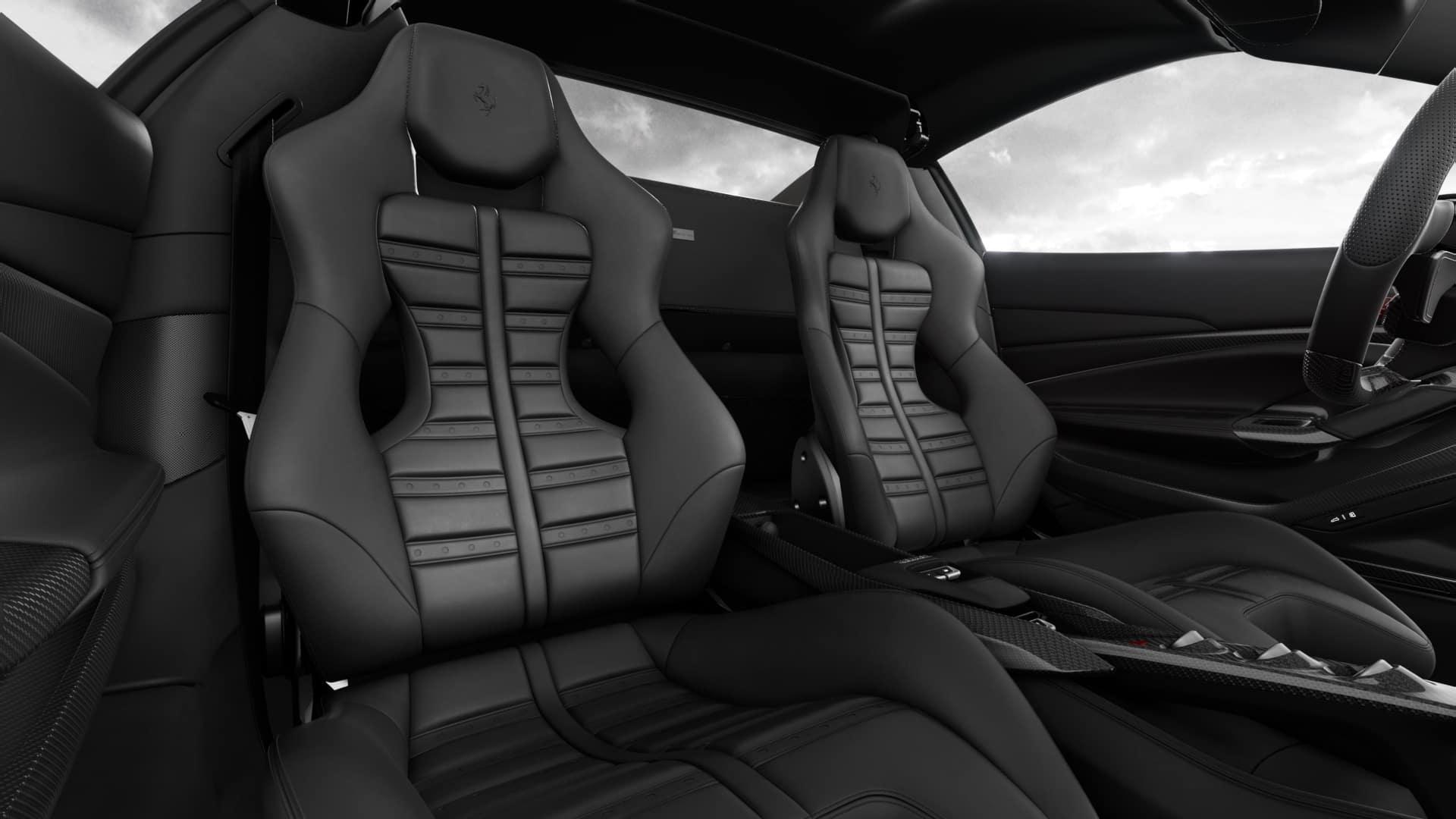 Ferrari F8 Spider Seating