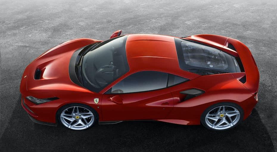 Ferrari F8 Tributo Above