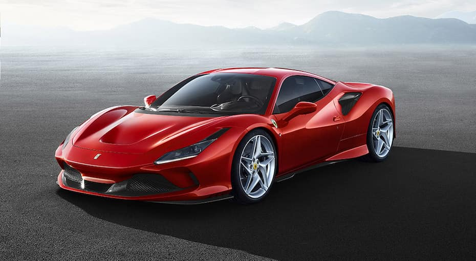 Ferrari F8 Tributo Parked