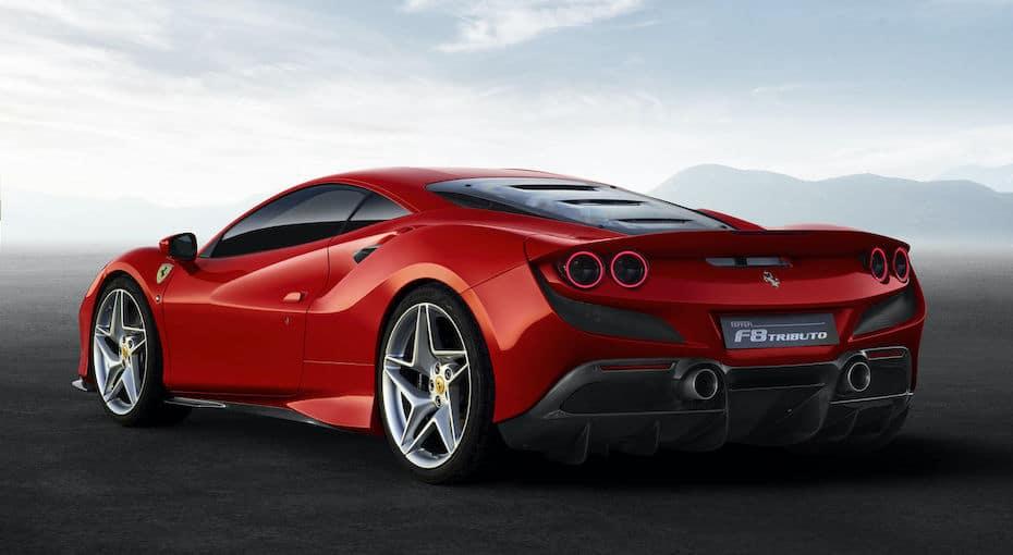 Ferrari F8 Tributo Rear