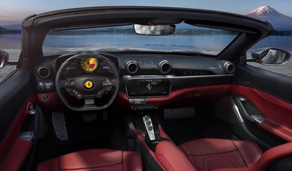 Ferrari Portofino M Interior Crop