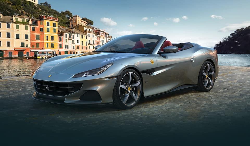 Ferrari Portofino M Parked Crop