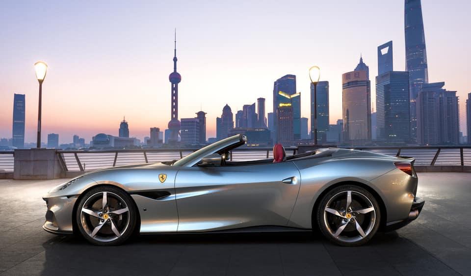 Ferrari Portofino M Profile Crop