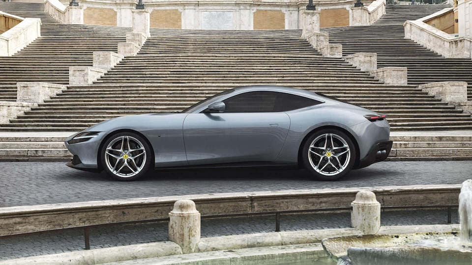 Ferrari Roma in Profile