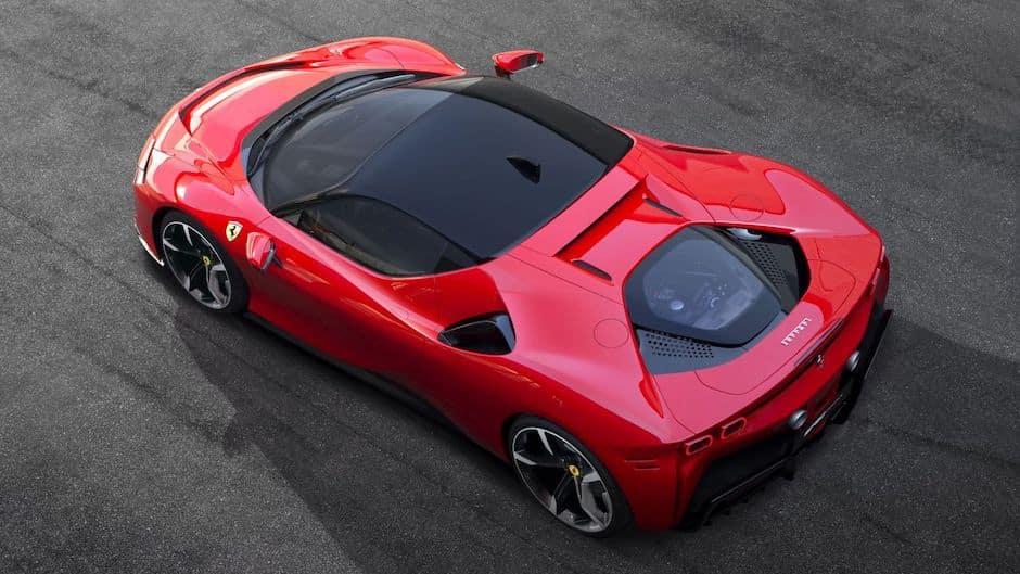Ferrari SF90 Stradale Above