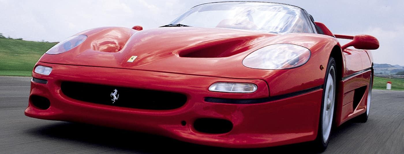 Ferrari F50 Front End on Track