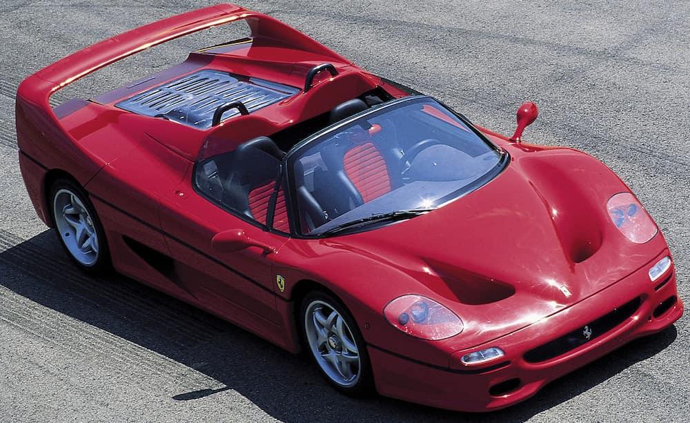 Ferrari F50 from Above