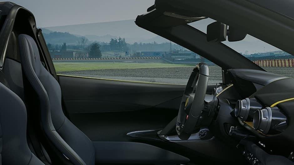 Ferrari 812 Competizione A Cockpit