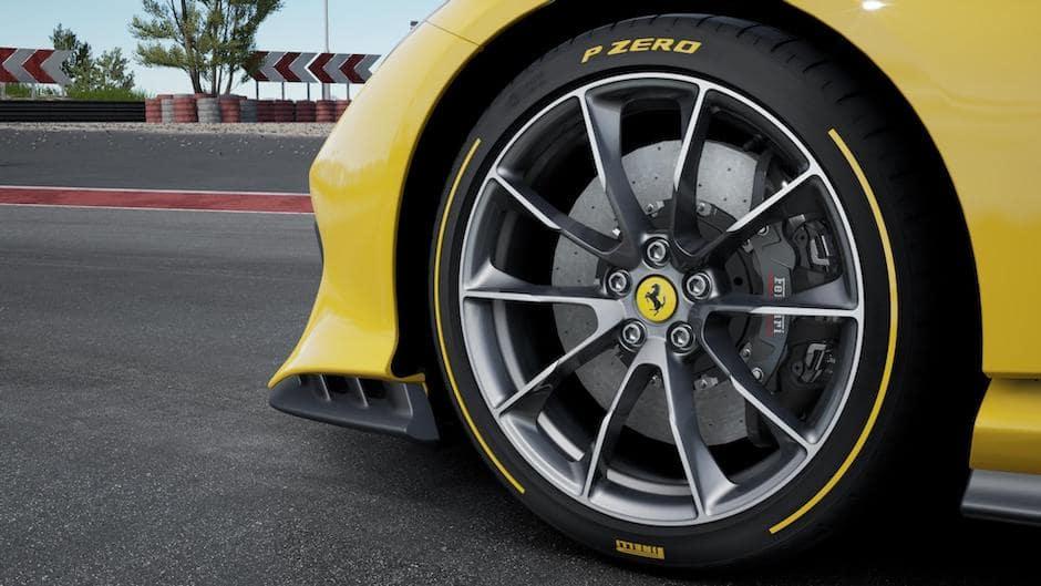 Ferrari 812 Competizione A Wheel
