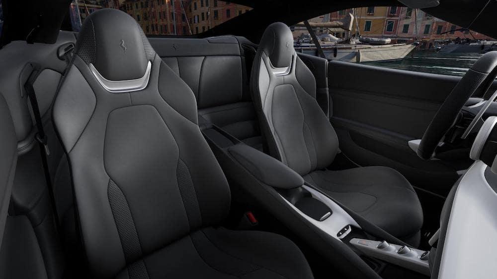 Ferrari Portofino M Charcoal Interior Standard Seating