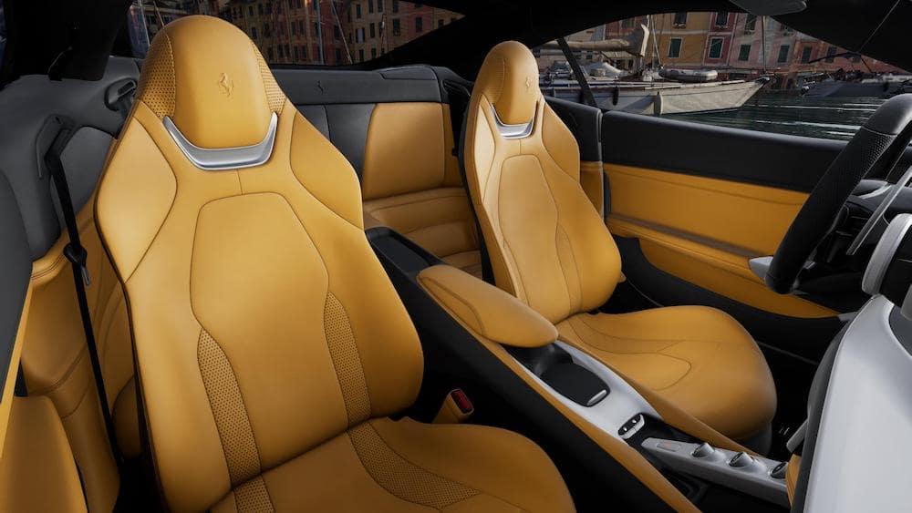 Ferrari Portofino M Interior Color Beige Tradizione