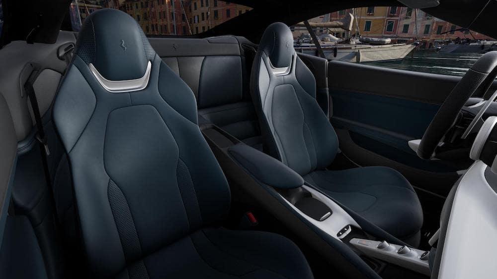 Ferrari Portofino M Interior Color Blu Medio