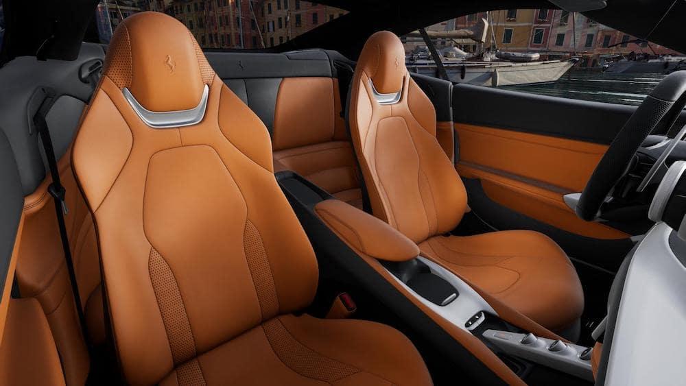 Ferrari Portofino M Interior Color Cuoio Toscano