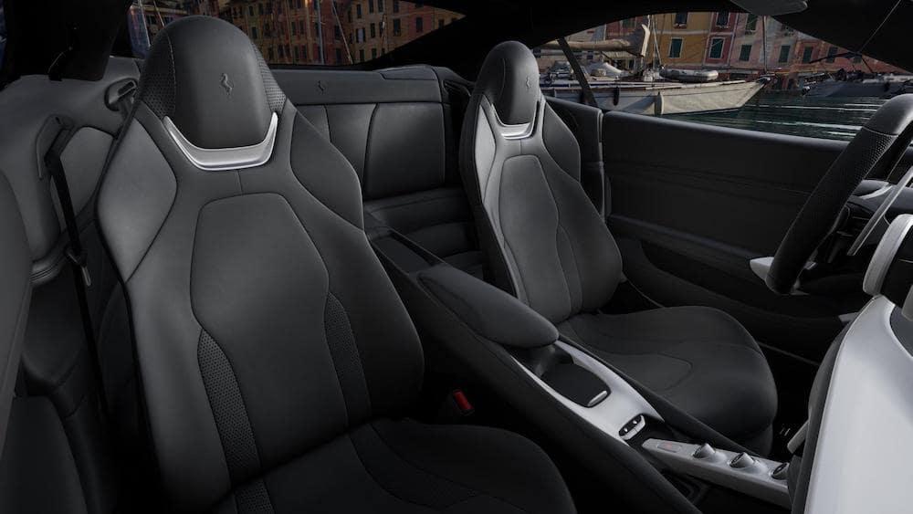 Ferrari Portofino M Interior Color Nero