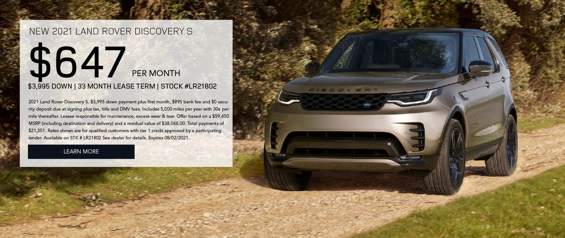Land Rover Manhattan_July New 2021 Discovery S