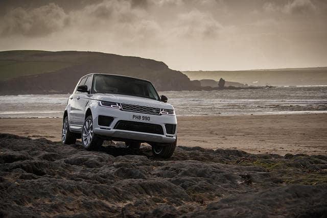 New 2021 Range Rover Sport Silver Edition