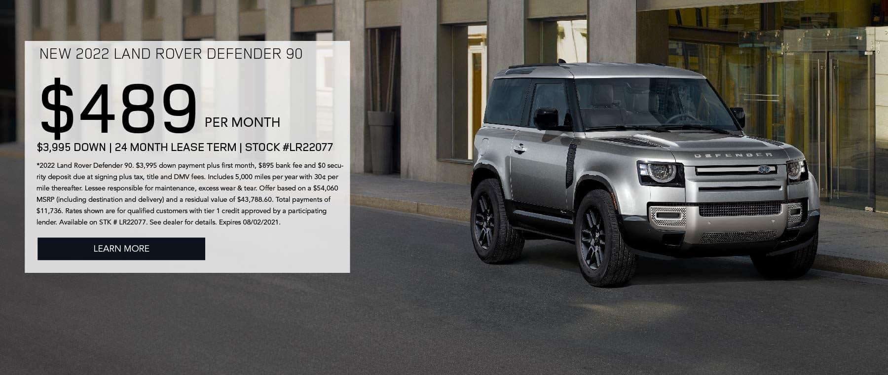 Land Rover Manhattan_July New 2022 Defender