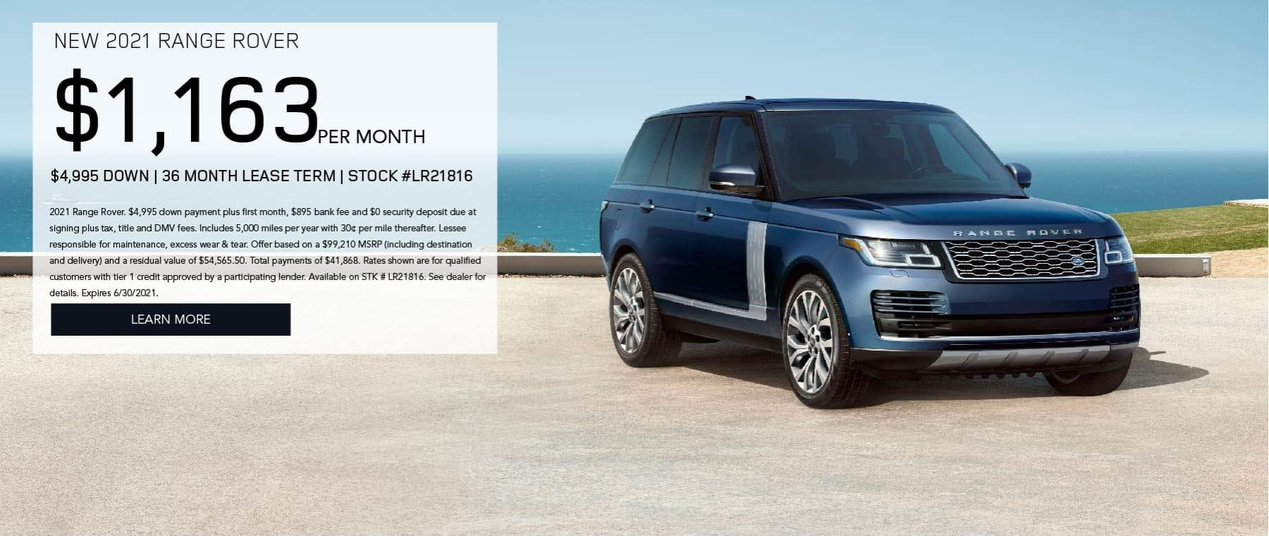 June 2021 – Range Rover Lease_Discovery Sport March
