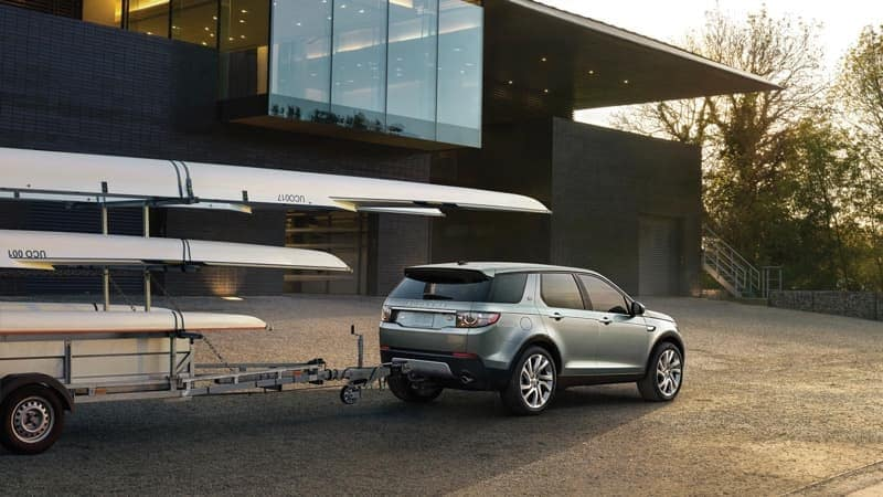 2019 Land Rover Discovery Sport towing