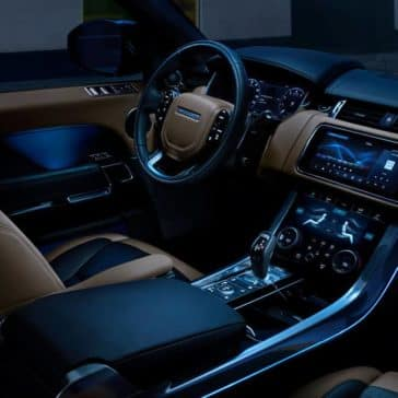 2019 Land Rover Range Rover Sport front interior