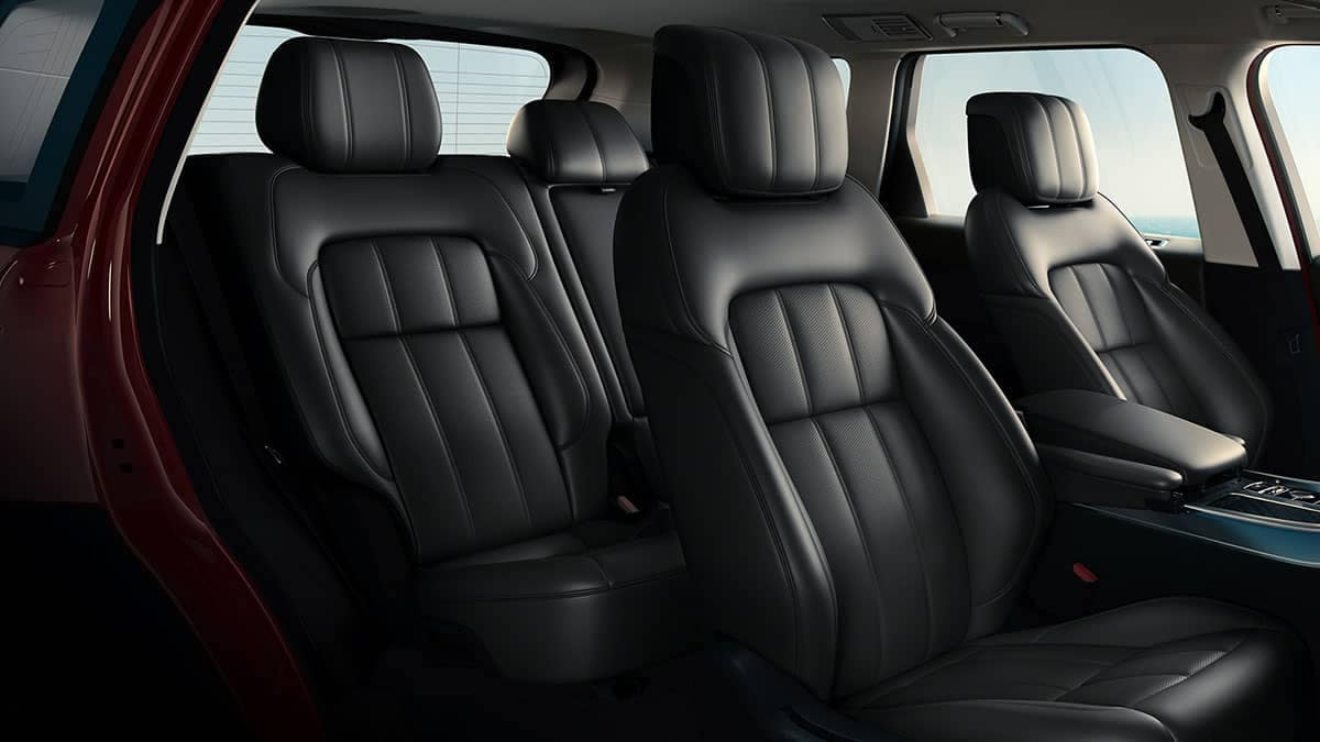 2019 Land Rover Range Rover Sport seating
