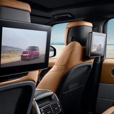 2019 Land Rover Range Rover Sport entertainment features