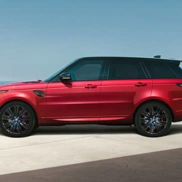 2019 Land Rover Range Rover Sport side view