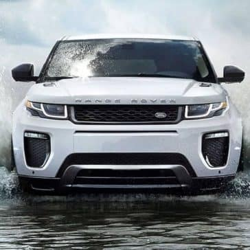 2019 Range Rover Evoque exterior front view